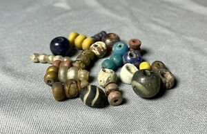 """Ancient beads, XI-XIII century, """"Domongol"""", found in the ground, 100% authentic"""