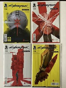 Cyberpunk 2077 Trauma Team  # 1,2,3,4 Comic Dark Horse 2020 FULL RUN
