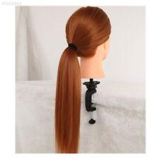 B463 Salon Doll Plastic Metal Mannequin Training Head Wig Stand Holder Head Clam