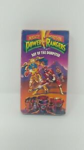 Power Rangers Day Of The Dumpster VCR VHS Video Tape Movie Used