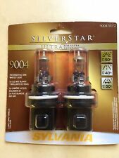 Pair Headlight Bulb-STE Sylvania Silverstar Ultra 9004SU/2