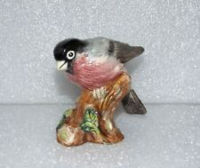2005 Royal Doulton Porcelain Animals Bullfinch Sweet Rda99 Perched Bird Figurine
