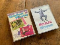 NORMAN WISDOM MY TURN & 2 X FILM AUDIO CASSETTES  FOLLOW A STAR & JUST MY LUCK