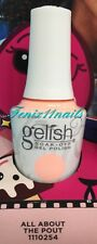 Harmony Gelish Soak off UV LED GEL Nail Polish All About The Pout 15ml Selfie