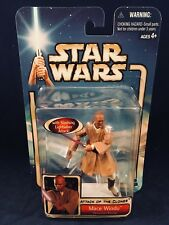 Star Wars Attack of the Clones Mace Windu Action Figure Hasbro 2002
