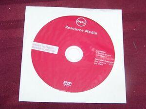 Genuine Dell Resource Media Driver DVD For Latitude E7270 and E7470 Laptop