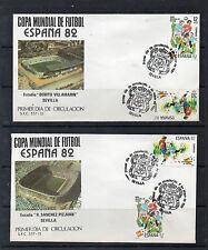 Spagna Mondiale di calcio anno 1982 (CU-170)