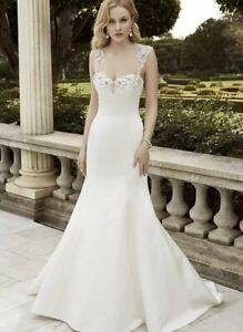 Enzoani Ingenio Sample Wedding Dress, UK8