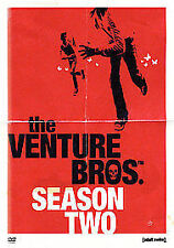 The Venture Brothers - Season Two [Adult Swim] [DVD] (New & Sealed)