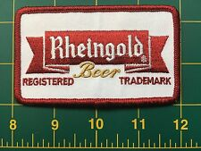 Rheingold beer vintage beer patch