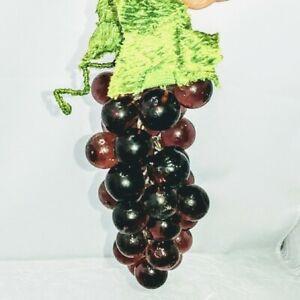 Hanging Grape Cluster ornament sun catcher