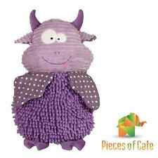 Baby Boo™ Mulberry Monster 45cm Cuddly Soft Toy with Rattle FREE Postage