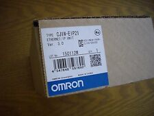 Omron CJ1W-EIP21 Ethernet/IP communication module. New in factory sealed box.