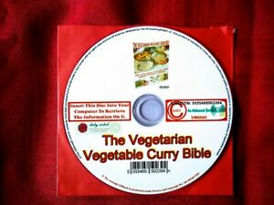 The Vegetarian Vegetable Curry Bible CDBook Produced by The HouseShop New