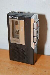 Vintage Sony M-5 Microcassette-corder Black Japan