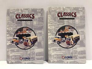 """1995 Corgi Classics """"January to June"""" Sales Brochures x2 MINT"""