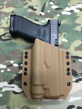 Coyote Tan Kydex Light Bearing Holster for Glock 34/35 Streamlight TLR1 TLR-1
