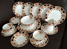 "15 Pieces of Antique English Thomas Forrester & Sons ""Darby"" Phoenix China Ware"
