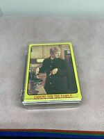 partridge family complete yellow card set topps 1971 vintage tv show series 1 J1