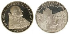 Medaglia Papa Giovanni XXIII Assegnazione Premio Barzan per la Pace1963 #MD175