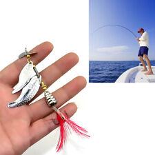 1Pc Fileur leurre pêche leurres appâts artificiels métal Bionic poisson hameçon
