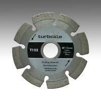 Marcrist TurboLite T152 Ø 115mm x 22,23mm Diamant-Trennscheibe Beton Granitborde