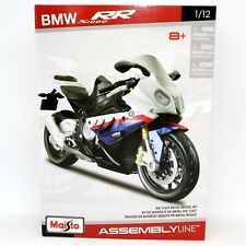 BMW R 1000 RR 1:12 Escala Modelo de Metal Fundido a Troquel Kit de Línea de Montaje Motocicleta Moto