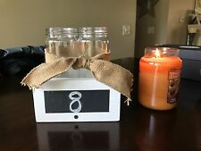12 Rustic wedding/bridal shower centerpieces, just add babies breath to complete