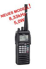 Icom ic-a6e vuelo funk mano dispositivo 8,33 & 25 MHz ETSI norma 300676-2