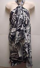 NWT Ralph Lauren Black/White Floral Halter Blouse Retails$129 Gorgeous!
