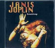 CD COMPIL 18 TITRES--JANIS JOPLIN--18 ESSENTIAL SONGS