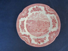 SET OF FOUR - Johnson Bros OLD BRITAIN CASTLES Bread Plates
