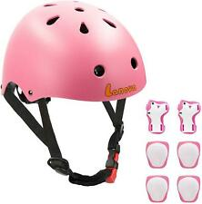 Lanovagear Toddler Helmet Knee Elbow Pads and Wrist Guards Adjustable Cpsc Kids