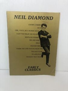 Neil Diamond Early Classics Vintage Music Book 1978 Tallyrand Music