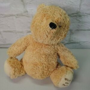"""Mothercare Disney Winnie The Pooh Bear Soft Toy Comforter 9"""""""