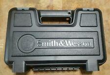 ORIGINAL SMITH & WESSON M&P 45 PISTOL GUN BLACK PLASTIC CASE