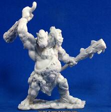 1x NOR'OKK ETTIN - BONES REAPER miniature figurine jdr rpg d&d geant heads 77103
