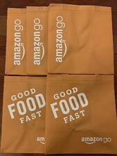 Amazon Go Shopping Tote Bag Orange ECO-Friendly