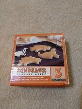 Williams Sonoma Set of 3 Pancake Molds Dinosaurs Metal with Handles