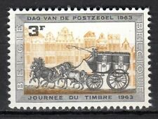 Belgium - 1963 Stamp Day / Coach - Mi. 1309 MNH