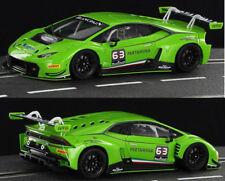 Racer Sideways Lamborghini Huracan GT3 Grasser Racing Slot Car 1/32