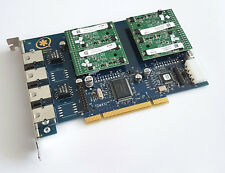 Digium wildcard tdm410 incl. 4x s110m módulo 4 Port TDM PCI VoIP Asterisk mapa
