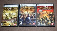 SID MEIER'S CIVILIZATION IV GOLD EDITION / COLONIZATION / BEYOND THE SWORD PC