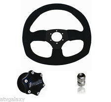 Dragonfire Racing Quick Release SUEDE D Steering Wheel Kit RZR XP S All Models