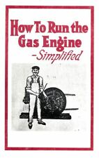 How to Run The Gas Engine Simplified Book Manual