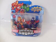 MARVEL SUPER HERO SQUAD SHOCKPROOF SPIDER-MAN & SHOCKER FIGURE PACK SEALED MOC