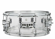 Pacific (PDP) 14 x 6 Chad Smith Signature Clear Acrylic Snare Drum (NEW)