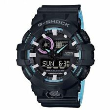 Casio GA700PC-1A G-Shock Men's Watch Black/Blue WR 20 ATM RRP$249