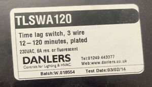 Danlers TLSW A120 ILM Time Lag Switch - TLSWA120ILM