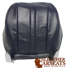 1997-2018 Chevy Express Van Driver Side Bottom Synthetic Leather Seat Cover Blue